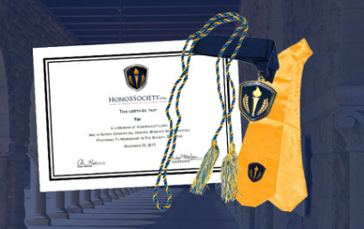 HonorSociety.org Store features graduation regalia, member apparel and more.
