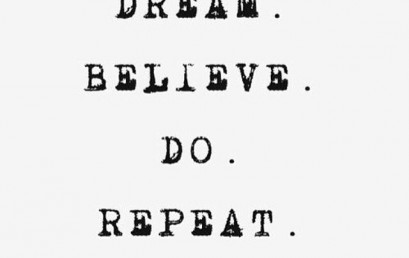 A great mantra for success.