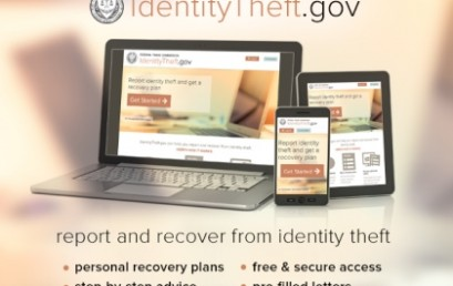 Report identity theft and get a personal recovery plan at IdentityTheft.gov
