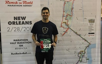 HonorSociety.org's very own @mikemoradian is running the New Orleans half marathon tomorrow. Follow him for more or give a shout out if you're in #neworleans #nola #honorsocietyorg
