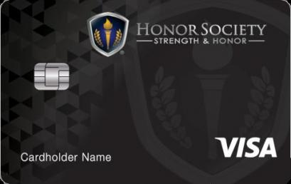 Honor Society Rewards Credit Card Launch