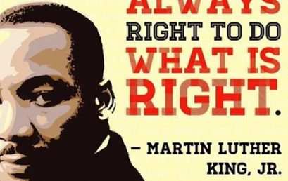"""""""The ultimate measure of a man is not where he stands in moments of comfort and convenience, but where he stands at times of challenge and controversy."""" -MLK.Believe in yourself and let your core values drive you. #MLK #Dream #honorsociety"""