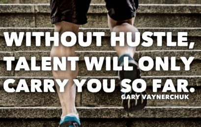 """""""Without hustle, talent will only carry you so far."""" #honorsociety"""